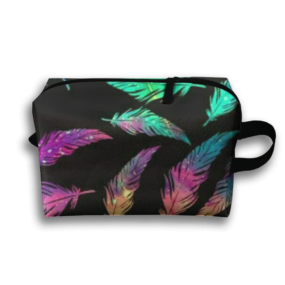 60f5696d666 Pink Flamingos Full Print Classic Travel Cosmetic Pouch Bag Interesting  Cosmetic Bag Large Capacity For Travel