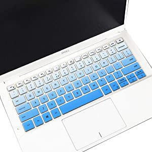 """MUBUY Keyboard Cover for 2020 2019 New Dell Inspiron 13 5390 5391 7390 7391 13.3"""", Inspiron 14 5000 5490 5493 5498 7490 14"""", Dell Vostro 13 5390 5391 5490 