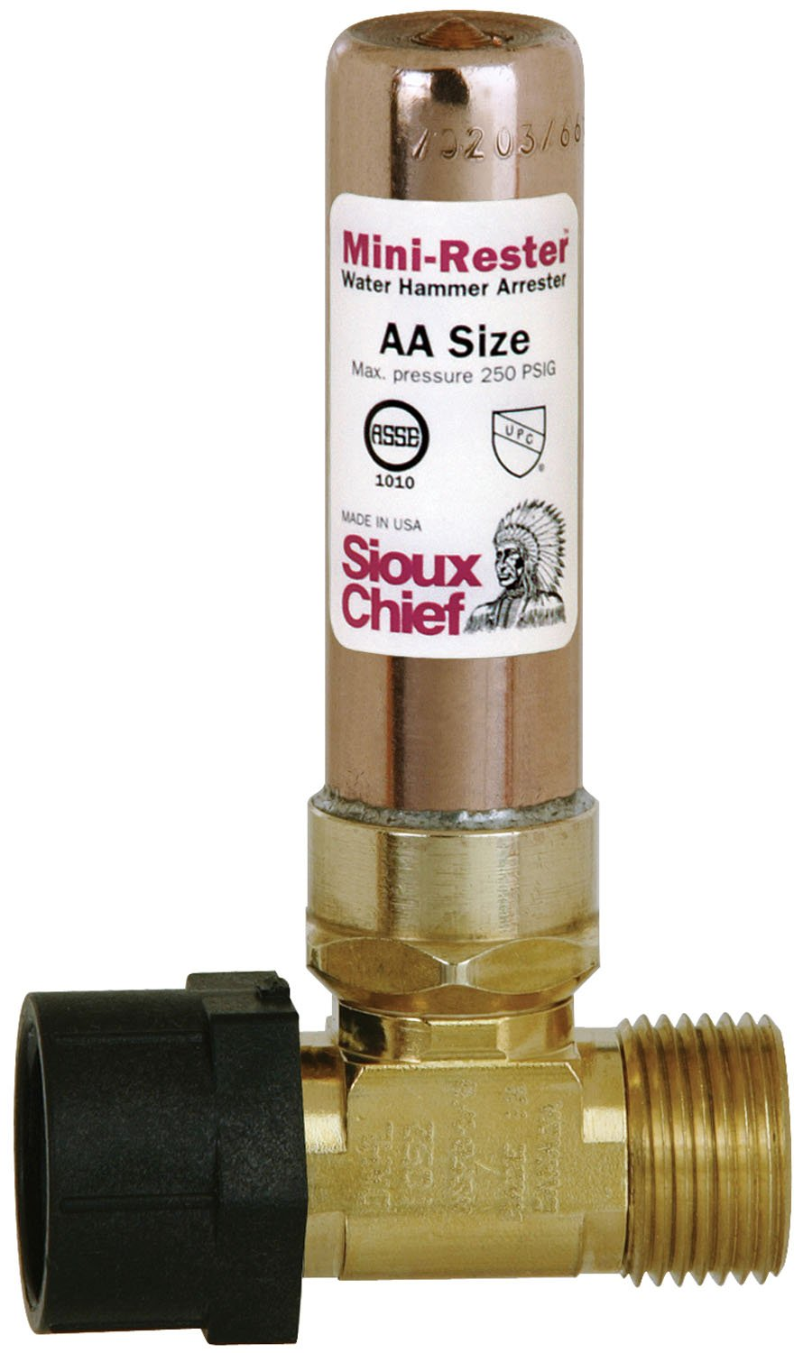 Sioux Chief Mfg 660-TK Female Swivel Ballcock Nut by Male Ballcock Thread Mini Rester