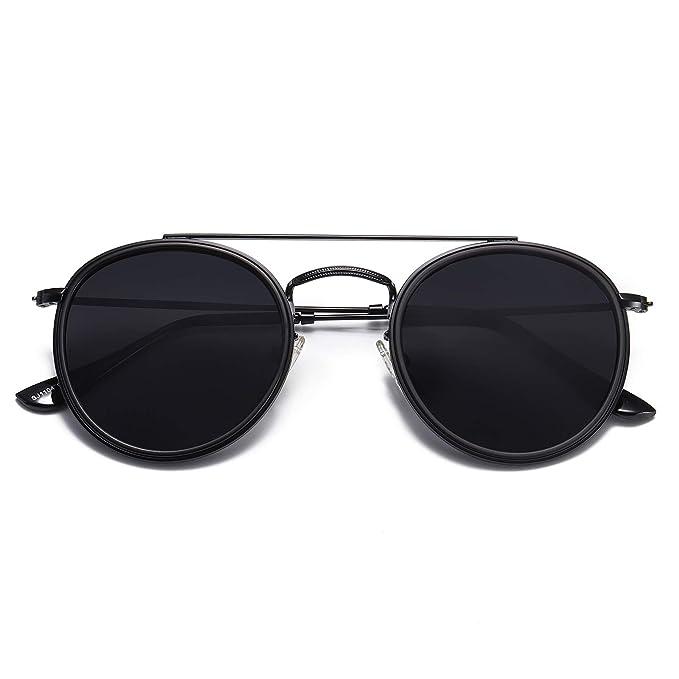 Amazon.com: SOJOS Gafas de sol redondas y pequeñas ...