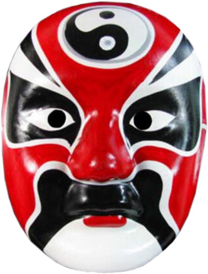 Alien Storehouse 2pcs máscara de la ópera de Pekín, máscara China de la ópera, máscara de Traje, máscara de Cara, Cosplay, D #: Amazon.es: Juguetes y juegos
