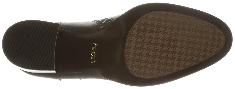 Lauren Ralph Lauren Women's Genna Ankle Bootie B01F4T442Q 8 B(M) US|Dark Chocolate