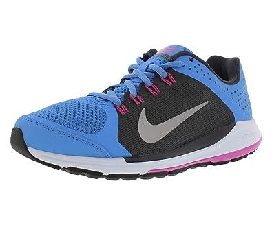bas prix fc59d 1ef12 NIKE Zoom Elite +6 Women's Running Shoes Size US 9.5, Regular Width, Color  Blue/Black/White