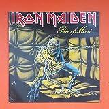 IRON MAIDEN Piece Of Mind EMI 1A 064 07724 BIEM STEMRA LP Vinyl VG+