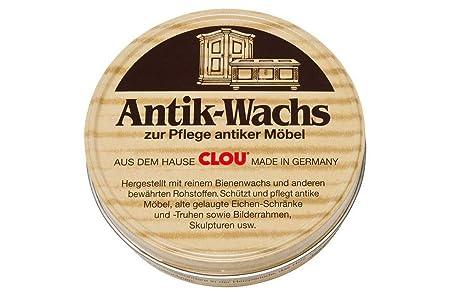 2fe63c3cbadd66 Clou Antik Wachs fur Hochwertige Pflege antiker Möbel 200 ml  Amazon.de   Baumarkt