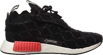 Amazon Com Adidas Nmd Ts1 Pk Gtx Bd8078 Black Red Shoes