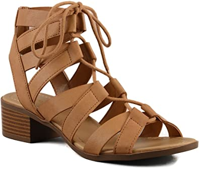 CITY Classified Mousse Strappy Lace up