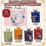 Takara Tomy Bungo Stray Dogs Mini Book Plate Collection Keychain Figure Mascot ~1.5
