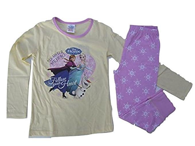 Frozen - Pijama - para niña beige 140 cm-Ca. 9-10Años : Amazon.es: Ropa y accesorios