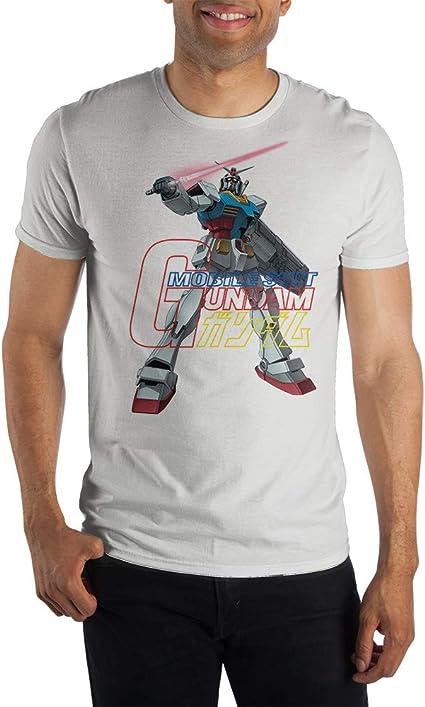 Gundam - Camiseta de Manga Corta para Hombre, diseño de ...