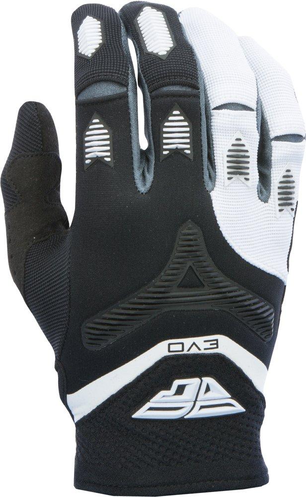 Fly Racing Unisex-Adult Eva Gloves Black//White Large 370-11010