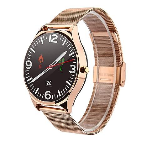 Amazon.com: Glo Buy Reloj inteligente con Bluetooth, llamada ...