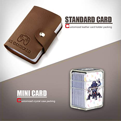 TAOHOU Mini Tarjeta de PVC de 22 Piezas The Legend of Zelda Breath of The Wild Wolf Link para Amiibo (Grande)