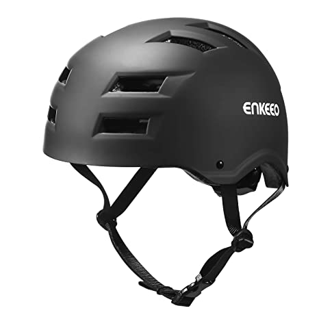 enkeeo casco sci  ENKEEO Casco da Bicicletta per Bambini, Skateboard, Monopattino ...