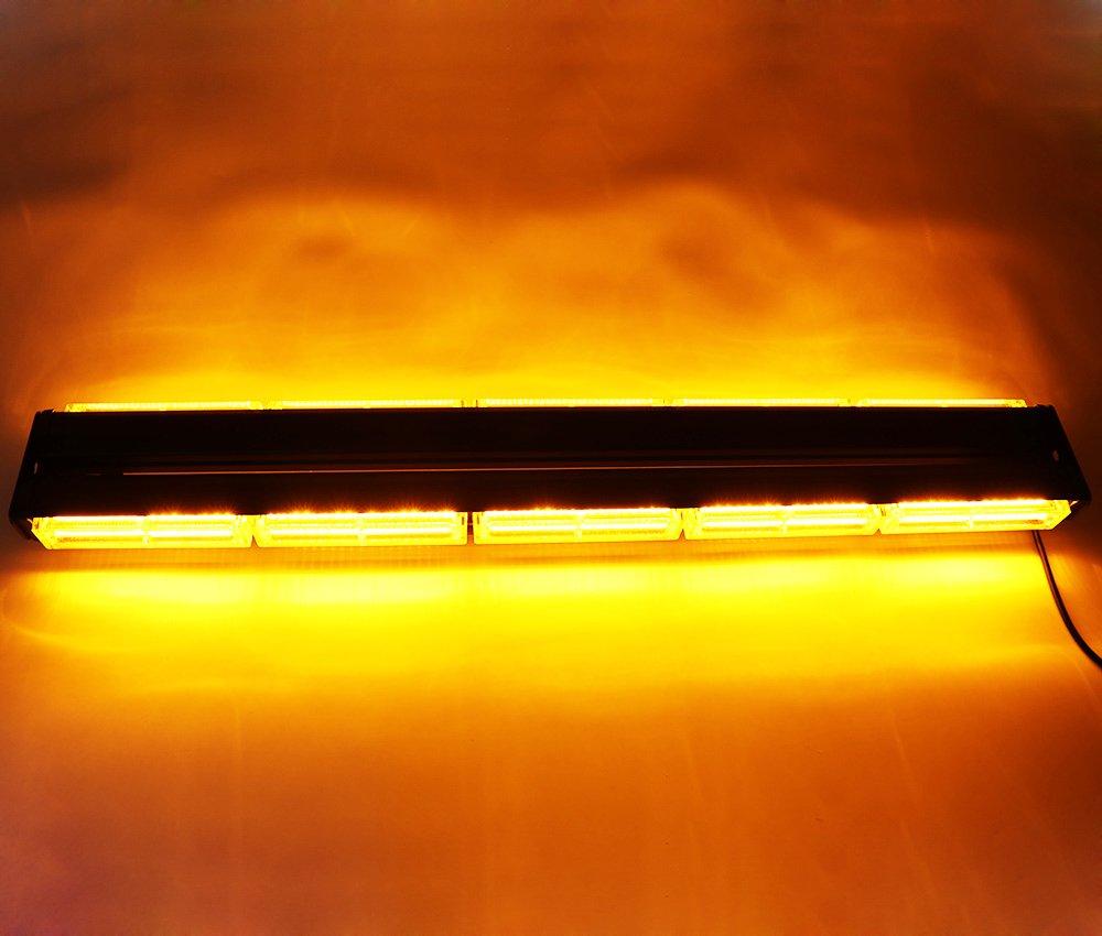 Feux davertissement et stroboscopiques HEHEMM Rampe de toit double face avec LED /à technologie COB