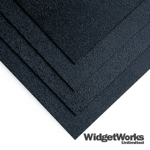 """BLACK ABS Thermoform Plastic Sheets 1/16"""" x 12"""" x 12"""" She..."""