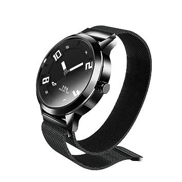 Docooler Lenovo Watch X Reloj Inteligente 80ATM Luminoso Puntero a Prueba de Movimiento de Movimiento del Sueño Monitorización de la Frecuencia Cardíaca ...