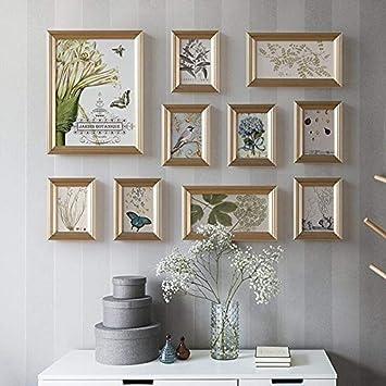 Instagram Bricolage Mur De Photo En Bois Mur De Fond De