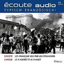 Écoute audio - Le 14 Juillet 1789. 7/2014