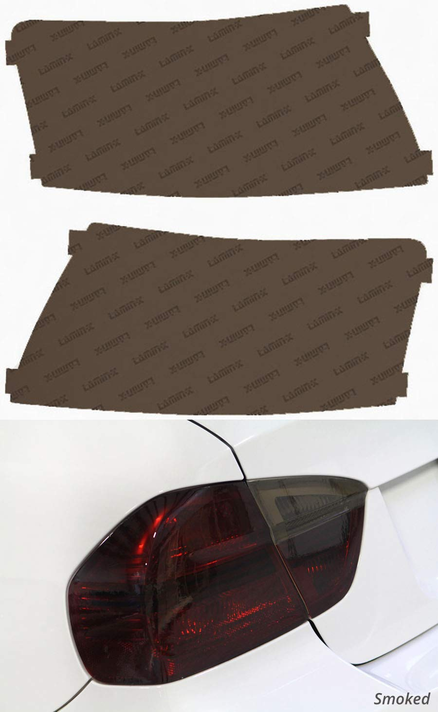 Lamin-x A209S Smoked Tail Light Film Covers
