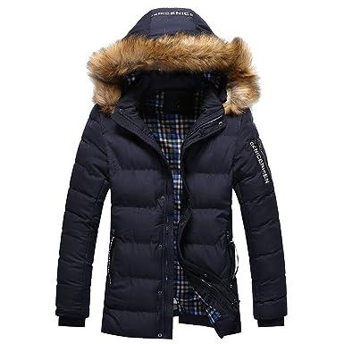 low priced 463d4 c9a32 HUIHUI Winterjacke Herren Nike weiß schwarz Mantel Herbst elegant Jacket  sportlich modern Amazon.de Bekleidung