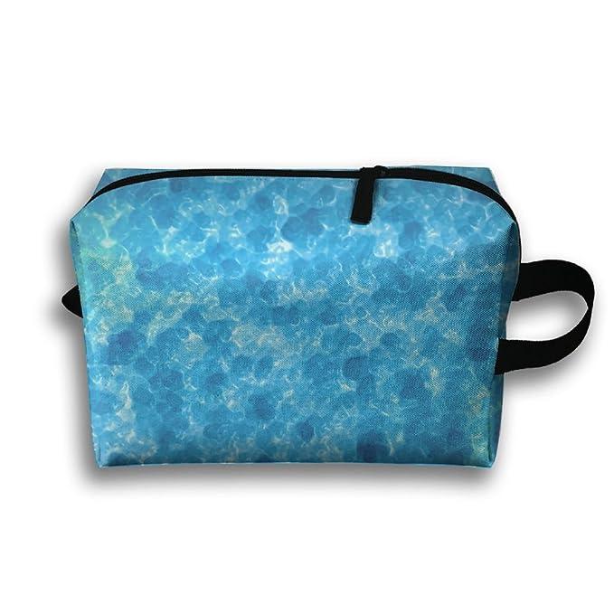 Amazon.com: Bolsas para cosméticos de agua líquida, bolsa ...