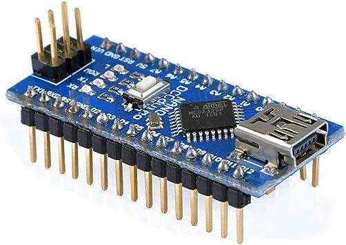 OSOYOO Mini USB Nano V3.0 ATMEGA328P Module CH340G 5V 16M Micro-controller board for Arduino: Amazon.es: Hogar