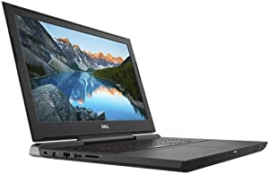Dell Inspiron 15 7577 Laptop: Core i5-7300HQ, 256GB SSD, NVidia GTX 1060 6GB, 8GB RAM, 15.6inch Full HD Display (Renewed)