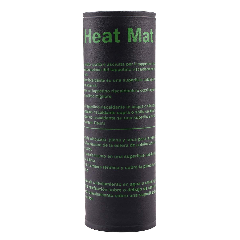 AIICIOO Estera de calefacción de plántulas-Estera de Calor ...