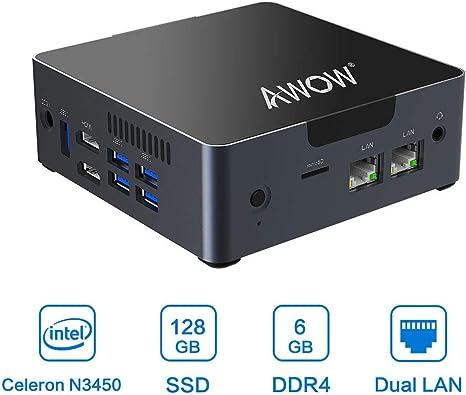 Amazon.com: Mini PC AWOW Ordenador de sobremesa Intel Core ...