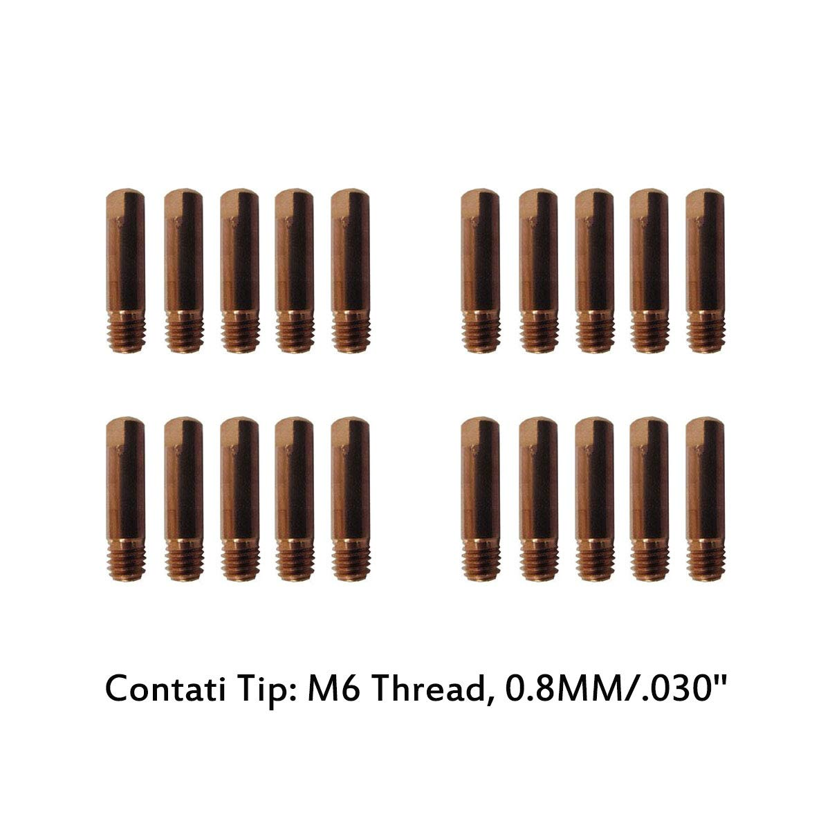 Contact Tips Holder Diffuser Nozzle fits Everlast Power i-MIG 140E MIG Welder
