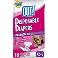 OUT! Disposable Female Dog Diapers | Absorbent Female Dog Diapers with Leak Protection |…