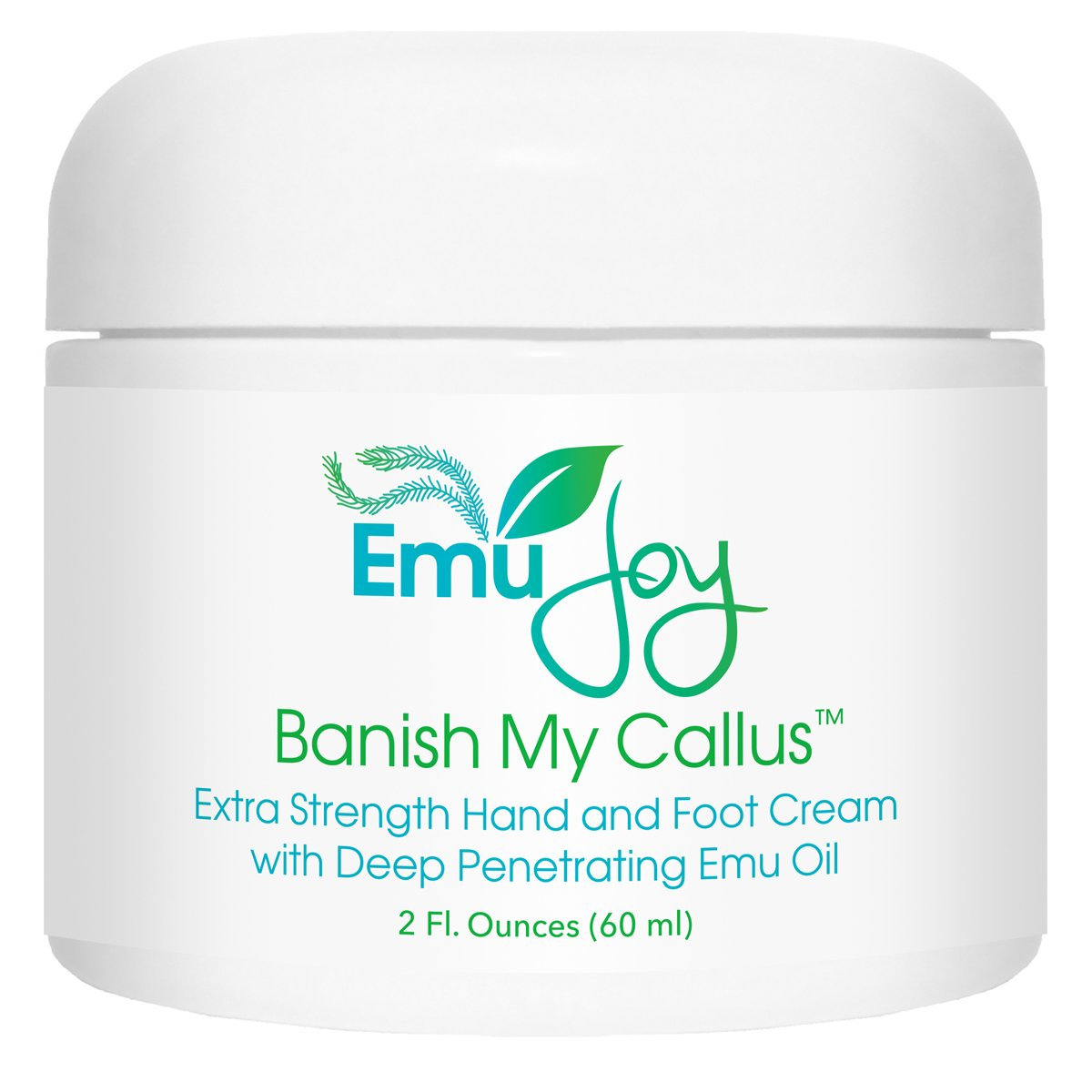 Banish My Callus Foot and Hand Callus Cream - Repairs Split Cracked Heels and Palms, Softens Hard Dry Skin on Knees and Elbows