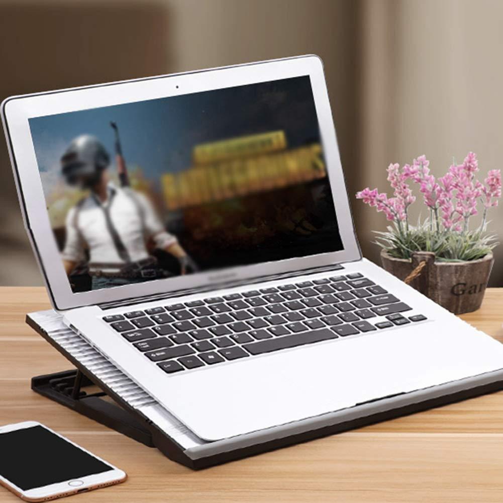 PANGU-ZC Laptop Cooler - Foldable Portable Dual USB Powered Dual Fan Design, Height Adjustable for 15.6'' by PANGU-ZC (Image #7)