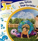 Silly Splash SNAIL SPRINKLER Inflatable Backyard Water Play (40'' Long)
