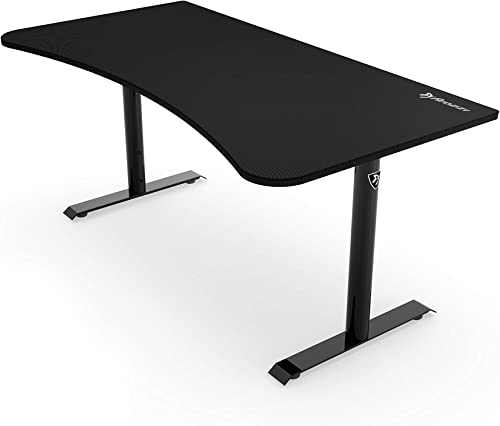 Arozzi Arena Gaming Desk, Pure Black