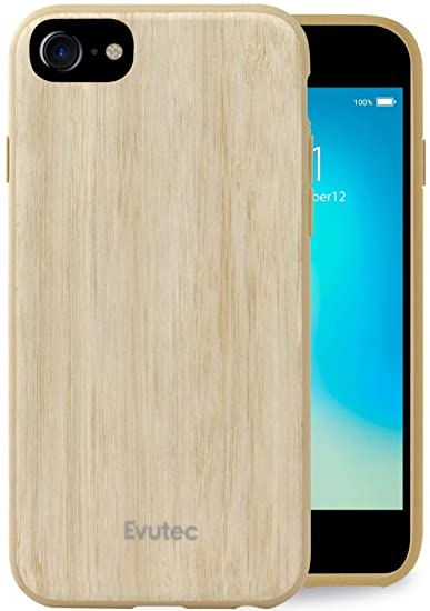 Iphone 6 6s 7 8 Compatible Case Evutec Aer Series Real Wood Thin Slim 1 6 Mm Lightweight Shock Absorption Premium Protective Phone Case Cover