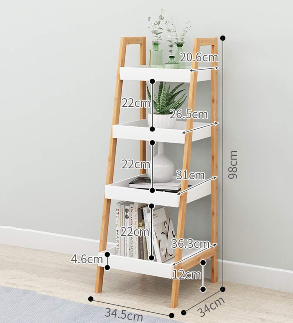 Amazon.com: QIANGDA Estantería de almacenamiento trapezoidal ...
