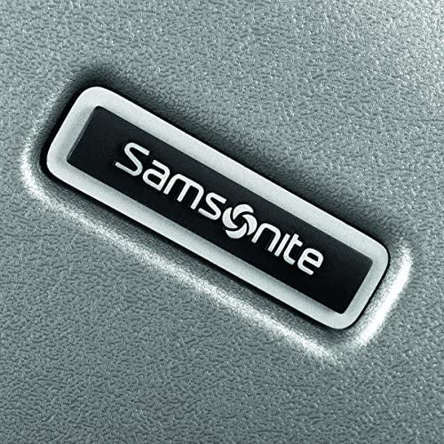 Samsonite Inova Hardside Luggage with Spinner Wheels, Metallic Silver, Checked-Large 28-Inch