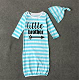 BANGELY Newborn Baby Boys Girls Letters Print Sleep
