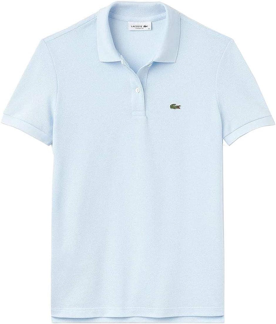 LACOSTE(ラコステ)ポロシャツ クラシックフィット 半袖 鹿の子 テニス ゴルフ レディース 女性用 PF7839 [並行輸入品] rill_light_青(t01) 40(日本XLサイズ相当)