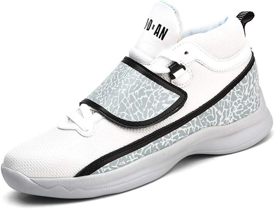 XUE - Zapatillas de Running para Hombre, Zapatillas de caña Alta, Zapatos de Correr cómodos, Zapatos Ligeros para Caminar, Zapatos Deportivos Casuales, Zapatos de Escalada, Viajes: Amazon.es: Jardín
