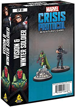 Asmod¨¦e Marvel Crisis Protocol: Vision and Winter Soldier ...