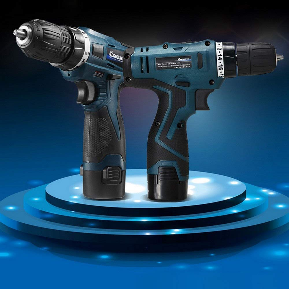 16.8v Cordless Screwdriver With Lithium Lon Replacement Battery Electric Drill In-House Multifunctional Electrical Screwdriver