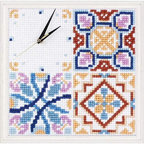 Collection D'Art Majolica Clock Needlepoint Kit
