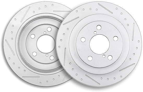Fits: 1993-1998 Impreza Legacy |Rear Rotors w//Ceramic Pads OE Brakes
