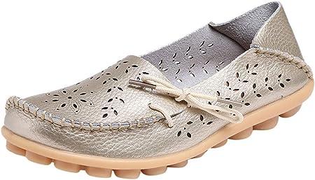 BHYDRY Zapatos Casuales para Madres con Orificios para la Madre Zapatos Casuales para Mujeres
