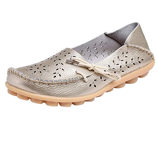 41931565fb948 Amazon.com: Gyouanime Mother Shoes Women Sandals Boat Shoes Flat ...