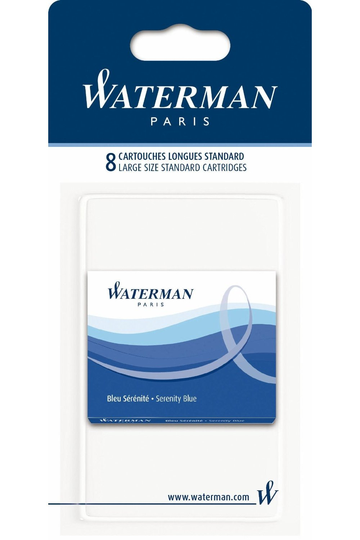 waterman elegance black rollerball pen with fine