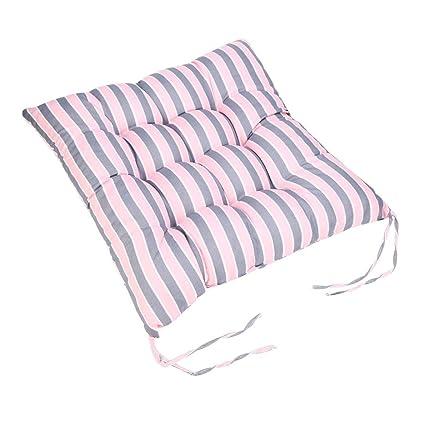 LiPing Cojines cuadrados para sillas de cocina, sillas de comedor, sillas de interior y